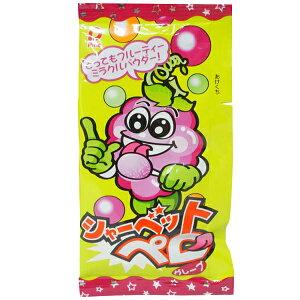 30円 シャーベットペロ グレープ [1袋 40個入]【駄菓子 飴 キャンディ パイン 棒付き 子供会 縁日】