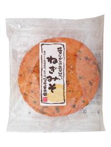 【駄菓子】100円 米の里 大判煎餅/ねぎみそ 15枚入