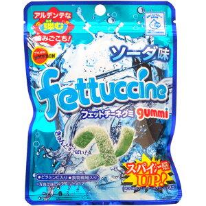 100円 50gフェットチーネグミ ソーダ味 [1箱 10袋入]【お菓子 グミ ブルボン 小袋 ソーダ まとめ買い】