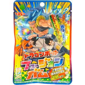 120円 ドラゴンボール フュージョンガム [1箱 15個入]【トップ製菓 ガム gum dragonball 景品 まとめ買い】