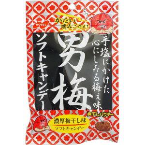 150円 35g男梅ソフトキャンディ [1箱 6個入]【ノーベル製菓 男梅 ソフトキャンディ 梅 梅干し 飴 お菓子 まとめ買い】