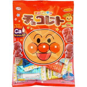 100円 34gアンパンマンチョコ小袋 [1箱 10個入]【お菓子 不二家 チョコ まとめ買い】