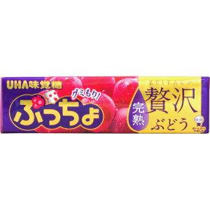 110円 ぷっちょ ぶどう [1箱 10個入]【お菓子 プッチョ UHA味覚糖 ユーハ まとめ買い ソフトキャンディ グミ】