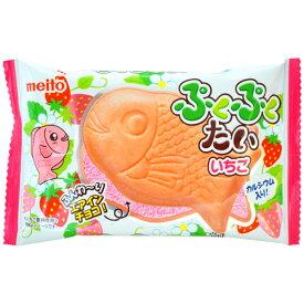 60円 ぷくぷくたい いちご味 10入 【駄菓子】