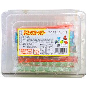 昭和 ぱくたっちフルーツぜりー [1箱 25本入]【ゼリー 駄菓子 まとめ買い】
