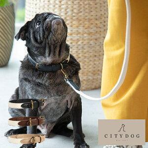 【送料無料】citydog ペット用 帆布 首輪 パイピング首輪 PIPING COLOLLAR 犬 猫 伸縮 おしゃれ ハーネス 大型犬 中型犬 小型犬 国産 日本製 職人 シティドッグ シティードッグ 多頭 おでかけ シンプ