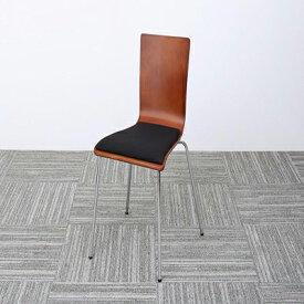 送料無料 オフィスチェア 1脚 CURAT キュレート スタッキングチェアー オフィスチェアー スタッキングチェア パソコンチェア 椅子 イス いす スチール ブラック オレンジ グリーン 500033551