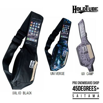 Hold tube HOLDTUBE touch fusion TOUCH FUSION back shoulder back waist porch large-capacity bag large-capacity pocket