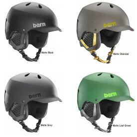 bern バーン メンズ ヘルメット WATTS mens スノボ スノーボード ウィンタースポーツ ヘルメット界のスタンダードモデル