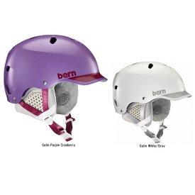 bern バーン レディース 女性用 ヘルメット LENOX womens スノボ スノーボード ウィンタースポーツ ジャパンフィット アジアンフィット