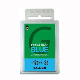 ガリウム ワックス ベースワックス ブルー BASE WAX BLUE GALLIUM スキー スノーボード ワックス -12度から-3度