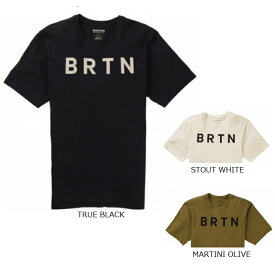 バートン BURTON メンズ レディース ユニセックス 半袖 ショートスリーブ Tシャツ SS TEES BRTN SS