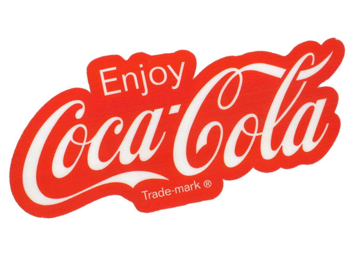 Coca-Cola☆CC-BA30★コカ・コーラ ステッカー★Enjoy Coca-Cola Coca-Cola/コカ・コーラ