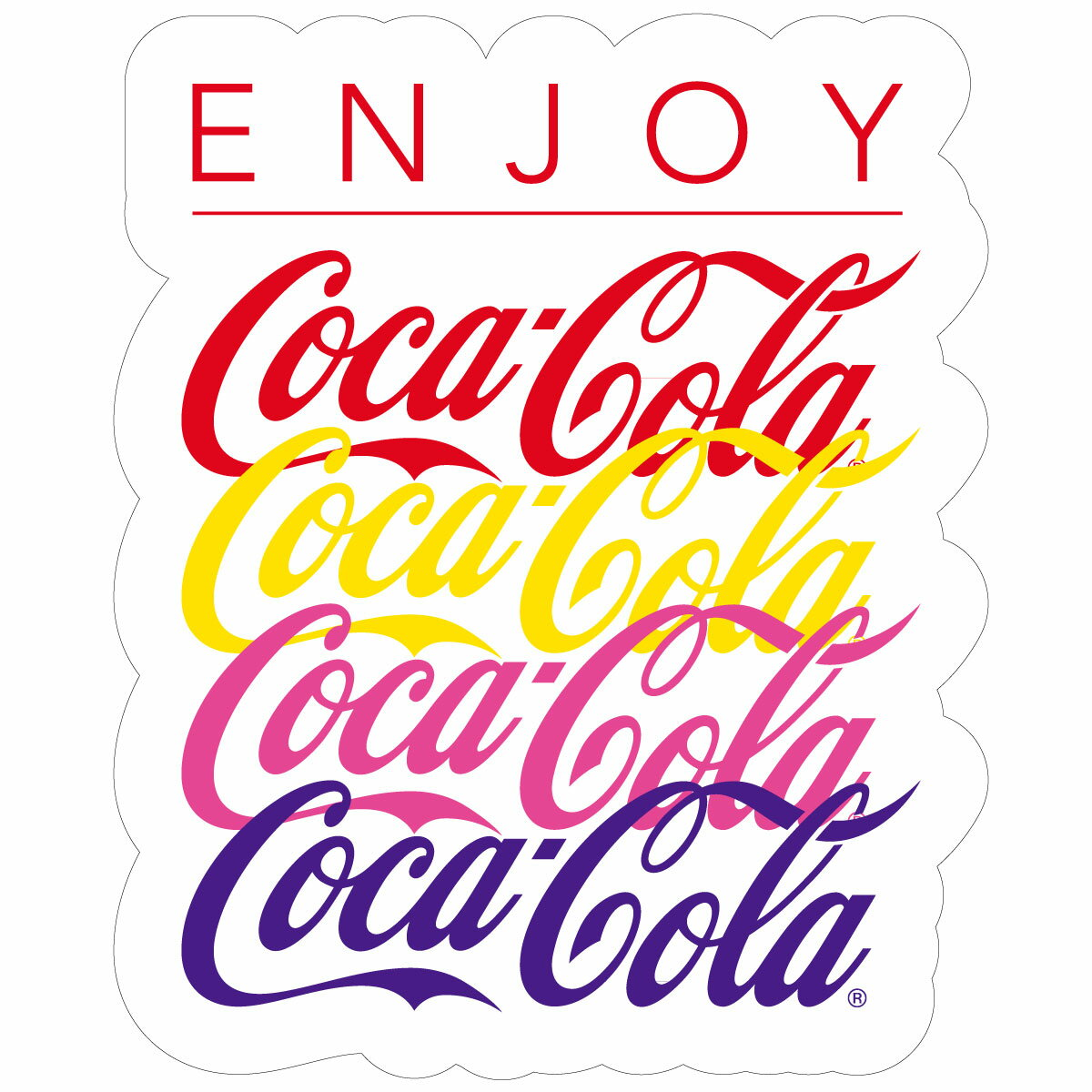 Coca−Cola☆CC−BA66☆コカ・コーラ ステッカー★ Coca-Cola/コカ・コーラ
