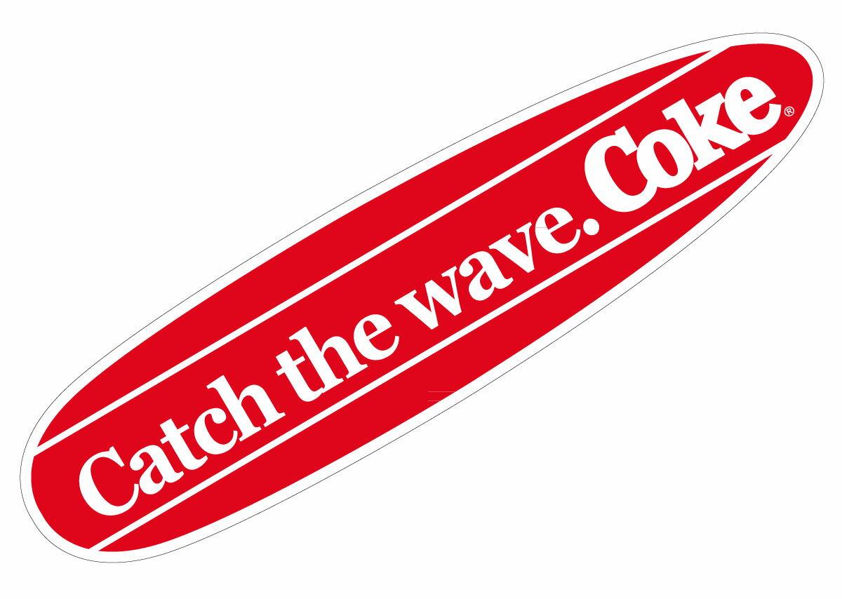 Coca−Cola☆CC−BA64☆コカ・コーラ ステッカー★ Coca-Cola/コカ・コーラ