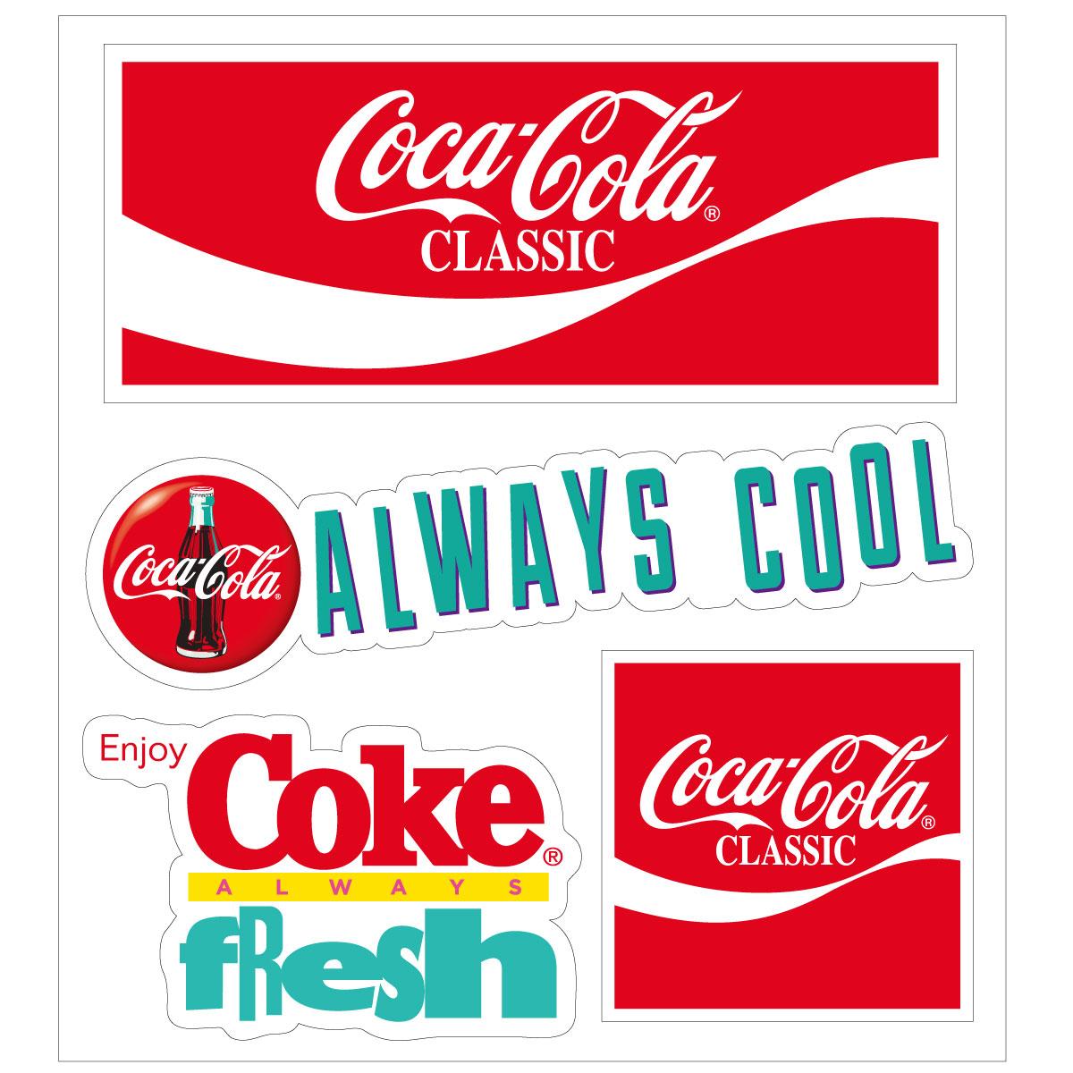 Coca−Cola☆CC−BA68☆コカ・コーラ ステッカー★ Coca-Cola/コカ・コーラ