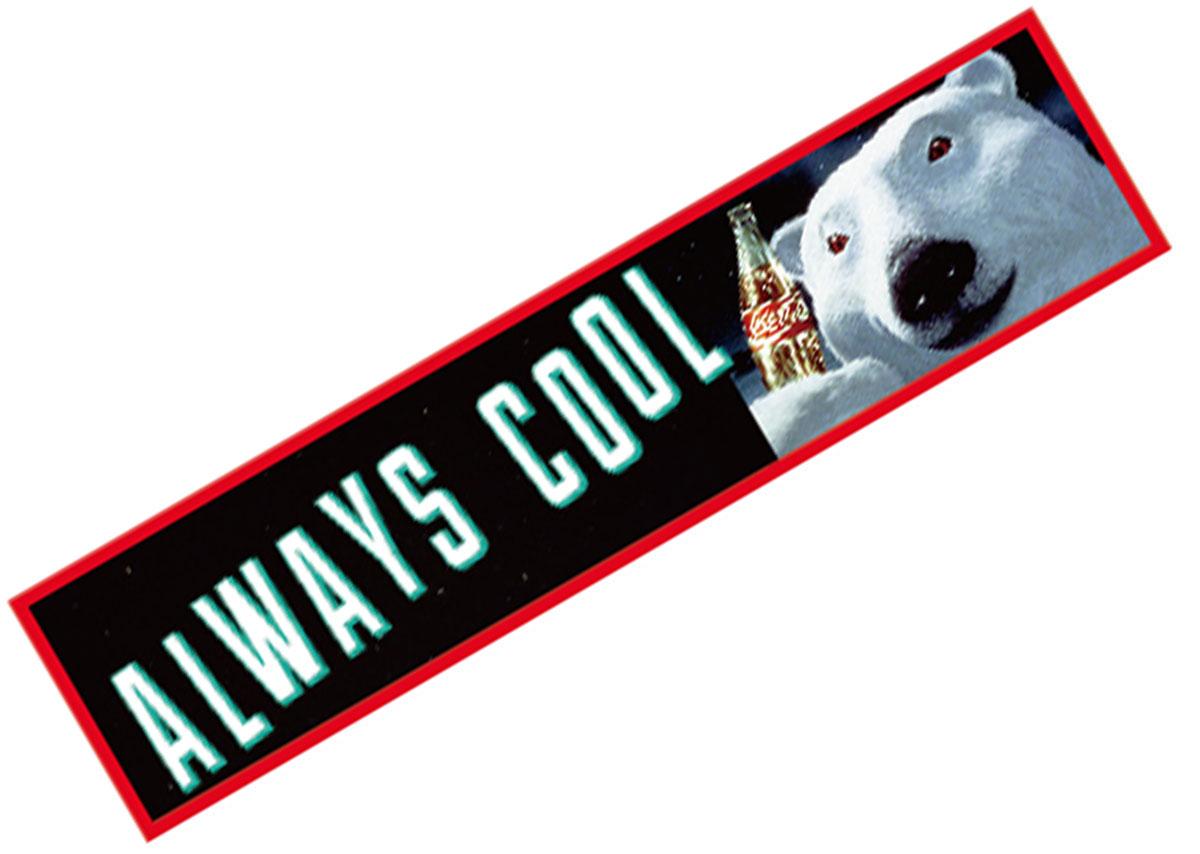 Coca-Cola☆CC-BS13★コカ・コーラ ステッカー★ALWAYS COOL Coca-Cola/コカ・コーラ
