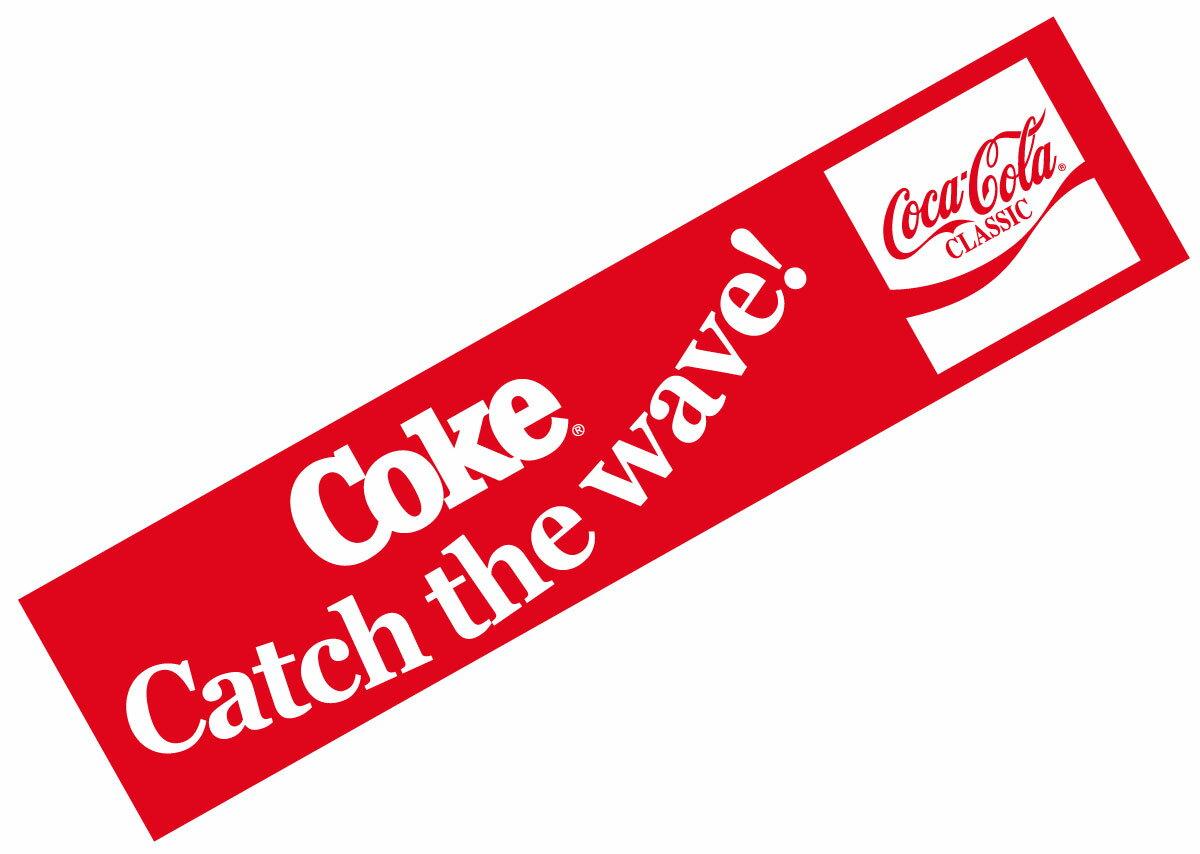 Coca-Cola☆CC-BS16★コカ・コーラ ステッカー★Catch the wave! Coca-Cola/コカ・コーラ