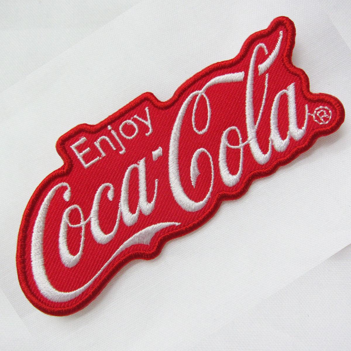 Coca−Cola☆CC−E1★コカ・コーラ ワッペン★EMBLEM☆Enjoy Coca−Cola /コカ・コーラ