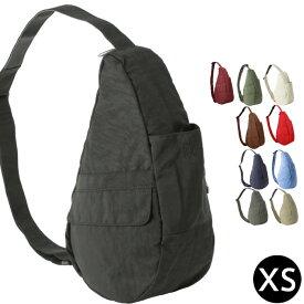 【クーポンで全品15%オフ】 Healthy Backbag ヘルシーバックバッグ アメリバッグ XS ナイロンヘルシーバック AmeriBag ショルダー ボディーバッグ 送料無料 ショルダーバッグ Distressed Nylon