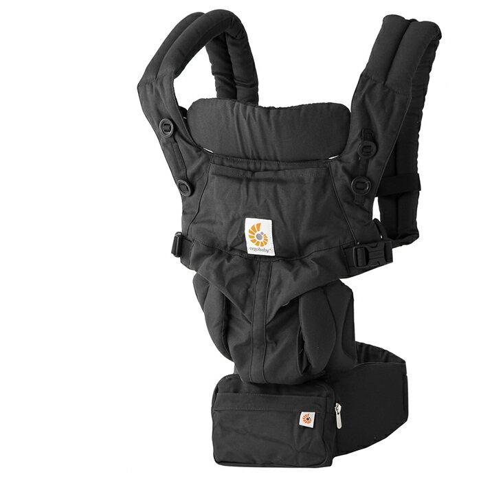 【クーポンで全品15%オフ】 エルゴベビー 抱っこ紐 オムニ360 ピュアブラック ERGO baby Omni 360 Pure Black