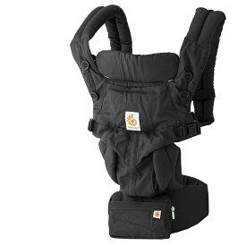【最大10倍+500円クーポン】 エルゴベビー 抱っこ紐 オムニ360 ピュアブラック ERGO baby Omni 360 Pure Black