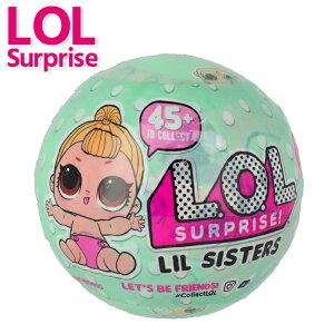 【レビューを書いて対象商品に使える50%オフクーポンプレゼント♪】 lolサプライズ リトルシスターズ トッツ おもちゃ 女の子 L.O.L Lil Sisters 着せ替え人形 仕掛けおもちゃ 6才 7才