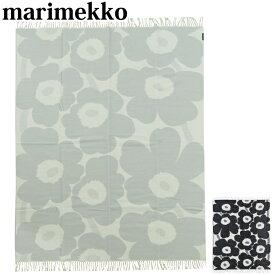 マリメッコ ブランケット Marimekko 毛布 Unikko Blanket ウニッコ 毛布 ウール 花柄