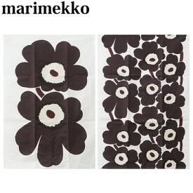 【クーポンで全品15%オフ】 マリメッコ キッチンタオル 2枚セット Marimekko UNIKKO TEA TOWEL 2pcs ウニッコ ホワイト