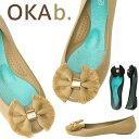 オカビー バレエシューズ OKA b. Elsie Matte Ballet Flat フラット オカビー パンプス 靴 ラバーシューズ ぺたんこ…