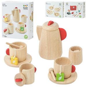 プラントイ 木のおもちゃ テーブルセット ティーセット ドクターセット おままごと PLANTOYS キッチン 木製 出産祝い プレゼント 誕生日 ギフト 玩具 おもちゃ 女の子 男の子 3歳 4歳 ままごと