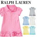 ラルフローレン ワンピース 女の子 Polo Ralph Lauren ポロ ワンピース&ブルマ Ruffled polo dress & bloomer ベビ...