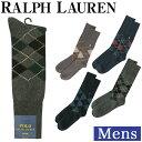 ラルフローレン ソックス メンズ アーガイル 靴下 ビジネス ソックス ハイソックス メンズ 男性 黒 FIVE DIAMOND ARGYLE COTTON CREW SOCKS POLO RALPH