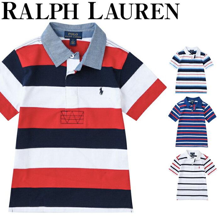 【クーポンで全品10%オフ】 ラルフローレン キッズ 男の子 ボーイズ ポロシャツ ラルフ キッズ ベビー 半袖 Polo Ralph Lauren シャツ 上品 おでかけ 服 おでかけ服