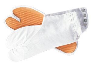祭りの地下足袋【ゴム底祭り足袋 白15.0-29.0】祭り専用のゴム底足袋です。【メール便送料込】