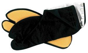 祭りの黒地下足袋【ゴム底祭り足袋 黒28.0】祭り専用のゴム底足袋です。