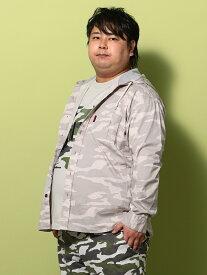 【春物】長袖カジュアルシャツ 大きいサイズ メンズカジュアルインナー RBフードオーバーシャツ レッドベレー 2L 3L 4L 5L 6L 大きいサイズの店 フォーエル
