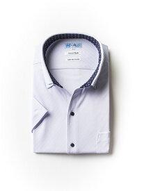 大きいサイズ メンズ 3L 4L 5L 大きいサイズ【完全ノーアイロン】半袖アイシャツSmart Style AIRCLEAR 柄コミ スッキパーボタンダウン サ 大きいサイズの店 フォーエル