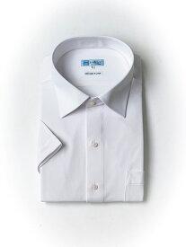 【P5倍+10%OFF】大きいサイズ メンズ ワイシャツ i-shirt白無地 AIRCLEAR白無地セミワイド【半袖】 アイシャツ 2L 3L 4L 5L 6L 7L 8L 大きいサイズの店 フォーエル クールビズ