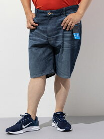 大きいサイズ メンズ 3L 4L 5L EDWIN JERSEYS SHORTS S.ブルー