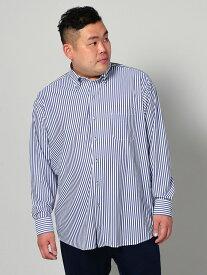 i-shirt5900 大きいサイズ メンズ長袖Yシャツ i-shirtP100AIRCLEARロンストBD アイシャツ 3L 4L 5L 6L 大きいサイズの店 フォーエル