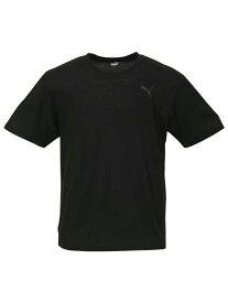 1PT-shirt 大きいサイズ メンズアンダーウェア PUMADRYハニカム半袖Tシャツ 3L 4L 5L 6L 8L 大きいサイズの店 フォーエル
