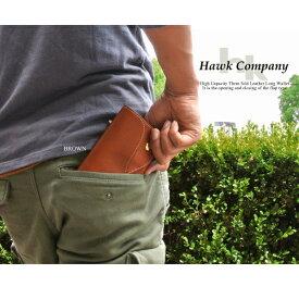 hawk company 財布 ウォレット サイフ メンズ レディース レザー おさいふ 本革 本皮 レザーウォレット ホーク カンパニー メール便不可