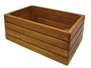 ハスキーコンテナーM 500WORKS.【*木箱*】【木製】【ボックス】【ガーデン】 Creer/クレエ