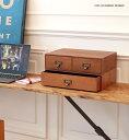 BRUNブラン スタッキングボックスB(木製収納)500WORKS.木製 引き出し 卓上 小物入れ 書類 収納ボックス 収納 小物収納…