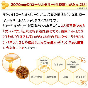 調整ローヤルゼリーサプリメント【ローヤルゼリー】