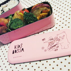 KIDSBOSSAランチ雑貨-2段スリム弁当箱