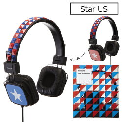 mix-stylestudsheadphonesミックススタイルスタッズヘッドホンスタッズおしゃれファッションロックヘッドフォン音質デザイン