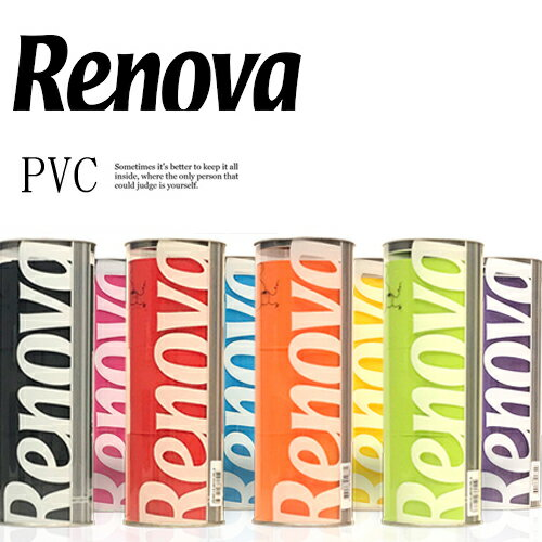 Renova PVC Gift Set - レノヴァ ポルトガル産高級トイレットロール トイレットペーパー ギフト専用ボックス(3Roll) 3枚重ね&ほのかな香り付 カラフルなトイレットペーパー 黒いトイレットペーパー