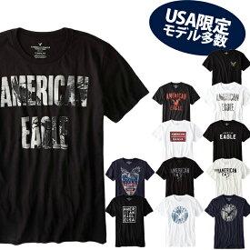 なんと【ポイント5倍!!】9/24(火)1:59まで【American Eagle】アメリカンイーグルメンズ AE 半袖 Tシャツ(ae77) アメカジ アメリカ ブランド